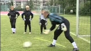 тренировка вратарей с Черчесовым.4 часть.avi