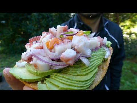 Coastal Foraging: Rare Find In Northern California Coast!! Making Ceviche