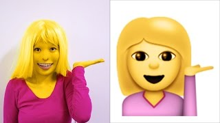 Emoji Photoshoot Challenge