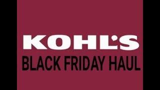 Kohls Black Friday Haul