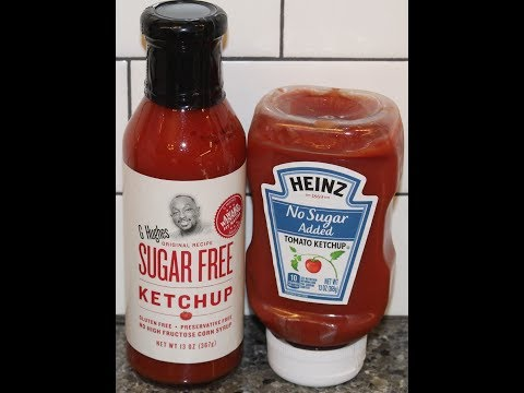 G Hughes Sugar Free Ketchup Vs Heinz No Sugar Added Ketchup – Blind Taste Test