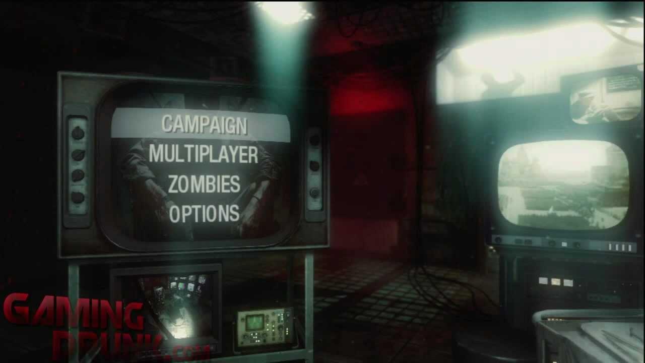 Call of Duty Black Ops  Hidden Menu Secret and Computer