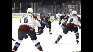 January 22 1996 Islanders at Avalanche highlights