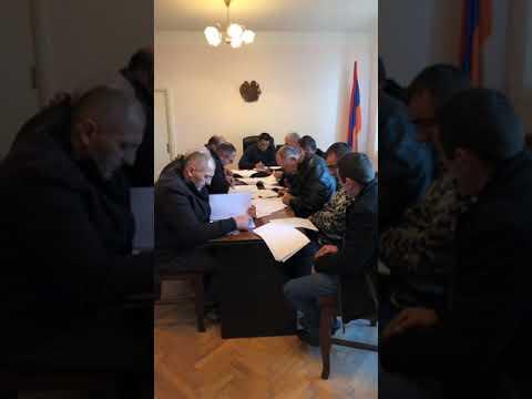 Ճամբարակ համայնքի ավագանու թիվ 8 հերթական նիստ