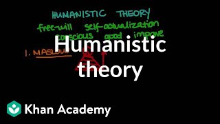 Humanistic theory | Behavior | MCAT | Khan Academy