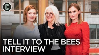 Anna Paquin, Holliday Grainger And Director Annabel Jankel On 'Tell It To The Bees'