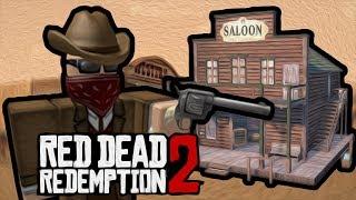 RED DEAD REDEMPTION 2 da DEEP WEB no ROBLOX!!?
