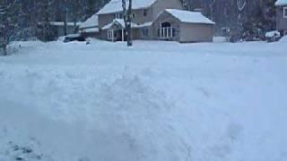 Snowstorm 2010 West Milford N.J.