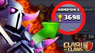 Clash Of Clans | NEW TROPHY RECORD!! TO LEGENDS OR TITAN'S!?!