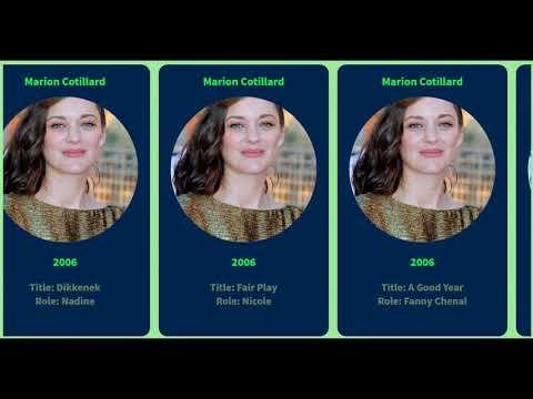 Movie List Marion Cotillard 1994 To 2020 Youtube