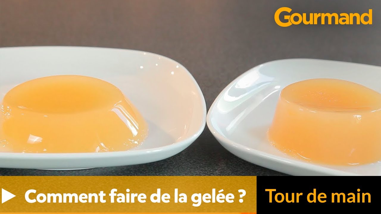 Tour de main comment faire de la gel e youtube - Comment retirer de la rouille ...