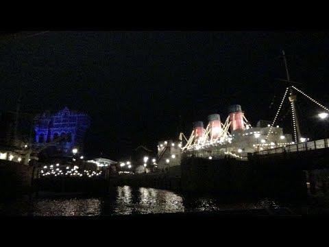 Night・LRD→AWTDS ディズニーシー・トランジットスチーマーライン / Tokyo DisneySea DisneySea Transit Steamer Line