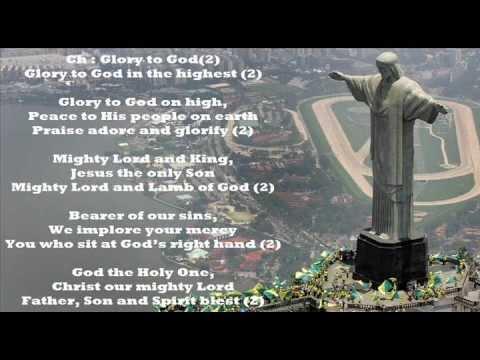 Glory To God In The Highest Gloria Hymn Per The New Roman Missal