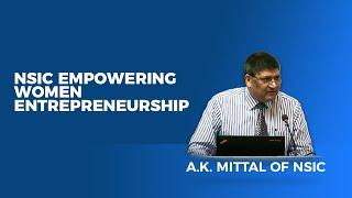 NSIC empowering Women Entrepreneurship
