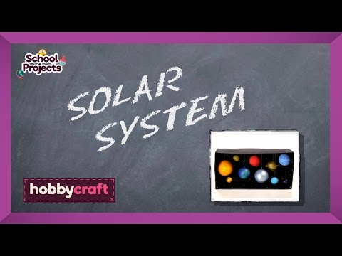 How to Make a Model Solar System - Hobbycraft Blog