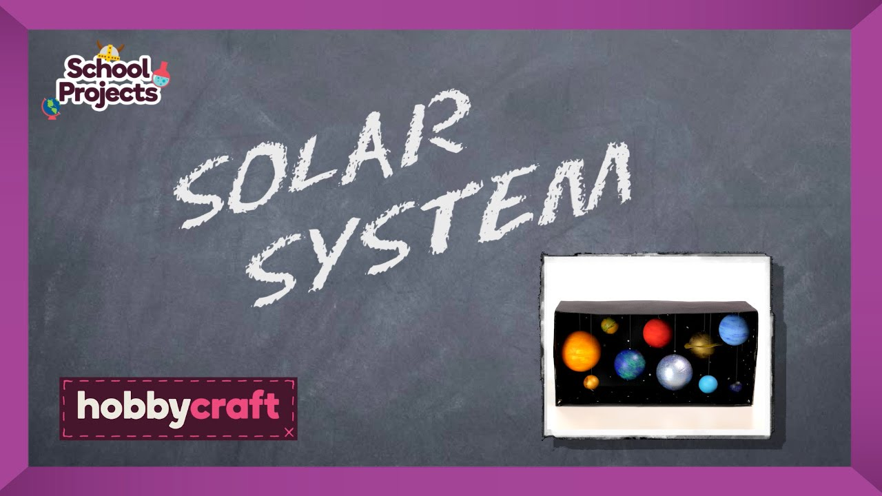How to make a model solar system hobbycraft youtube ccuart Images