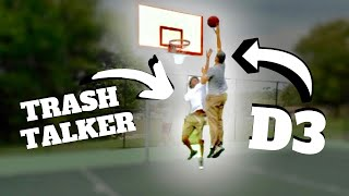 High School Trash Talker EXPOSED By D3 Hooper At The Park !