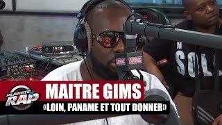 """[EXCLU]Maître Gims Medley de """"Loin, Paname et Tout Donner"""" dans Planète Rap"""
