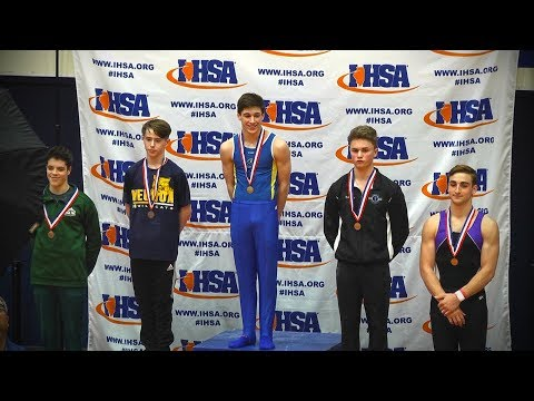 IHSA State, Boys Gymnastics // 05.12.18