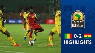 HIGHLIGHTS  TotalAFCONU23  Round 3 - Group A Mali 0-2 Ghana