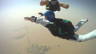 AFF level 3 jump - oops, no one holding on to me!
