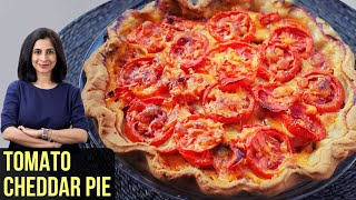 Tomato Pie | Tomato Pie with Cheddar | My Recipe Book By Tarika Singh
