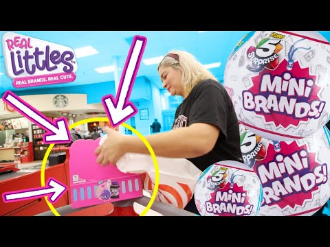 We Found Mini Brands & Shopkins Real Littles all in the same day!