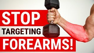Increase Your Grip Strength WITHOUT FOREARM TRAINING! (TIME SAVER!)