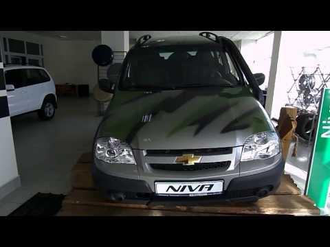 Chevrolet Niva в цвете Камуфляж в салоне у дилера