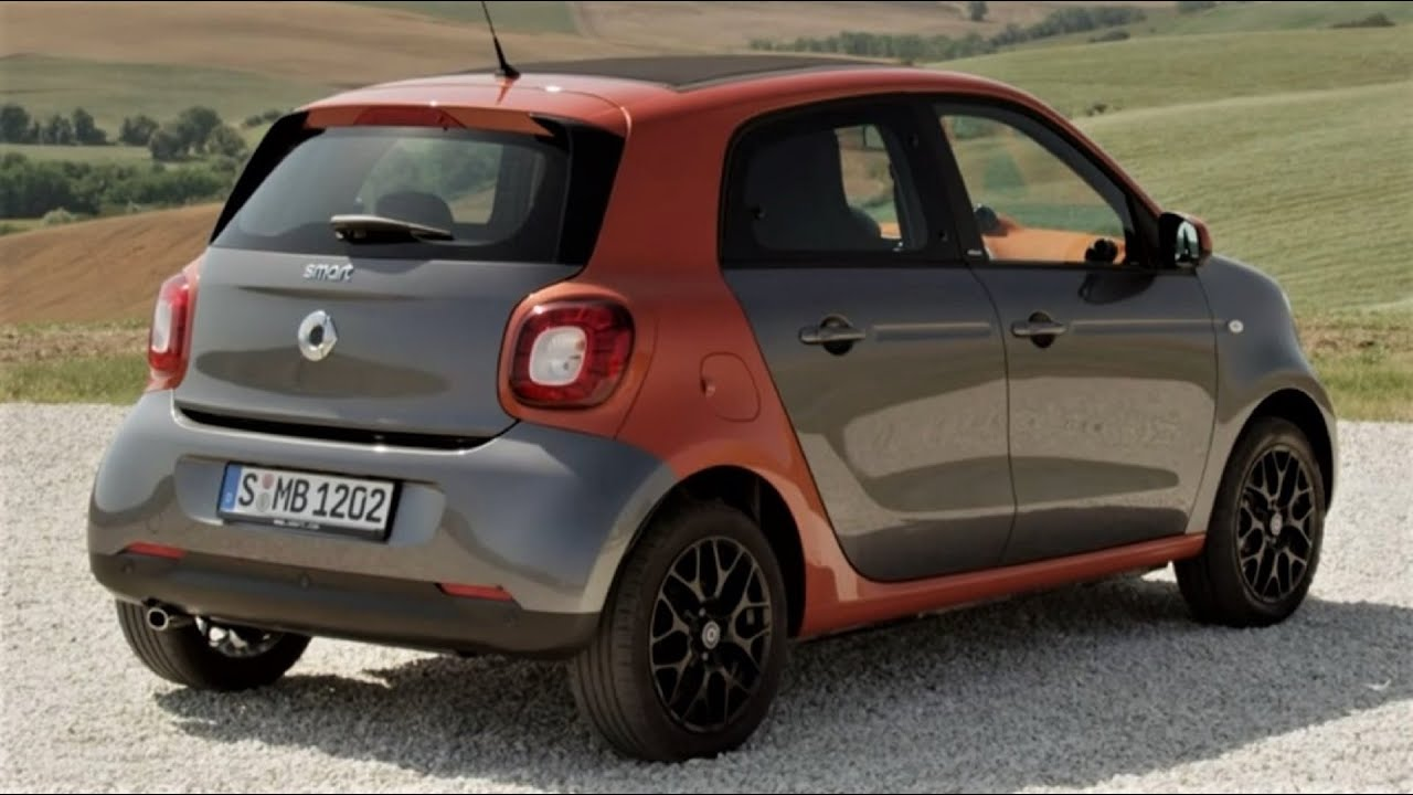 2015 mercedes benz smart forfour interior and exterior