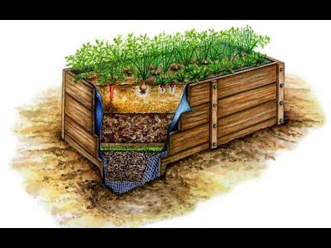 Высокая грядка как принцип органического земледелия. Достоинства и недостатки.