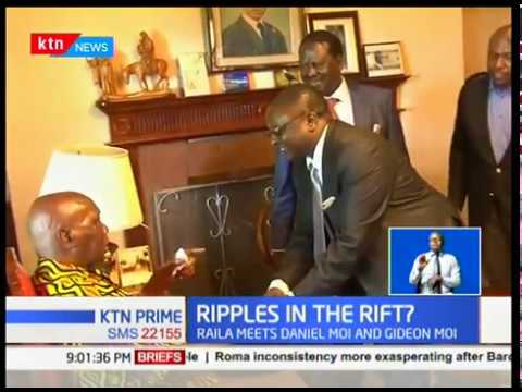 Raila and retired president Daniel Arap Moi held a two hour closed door meeting at Kabarak