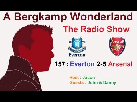 The #ABWRadioShow : 157 - Everton 2-5 Arsenal