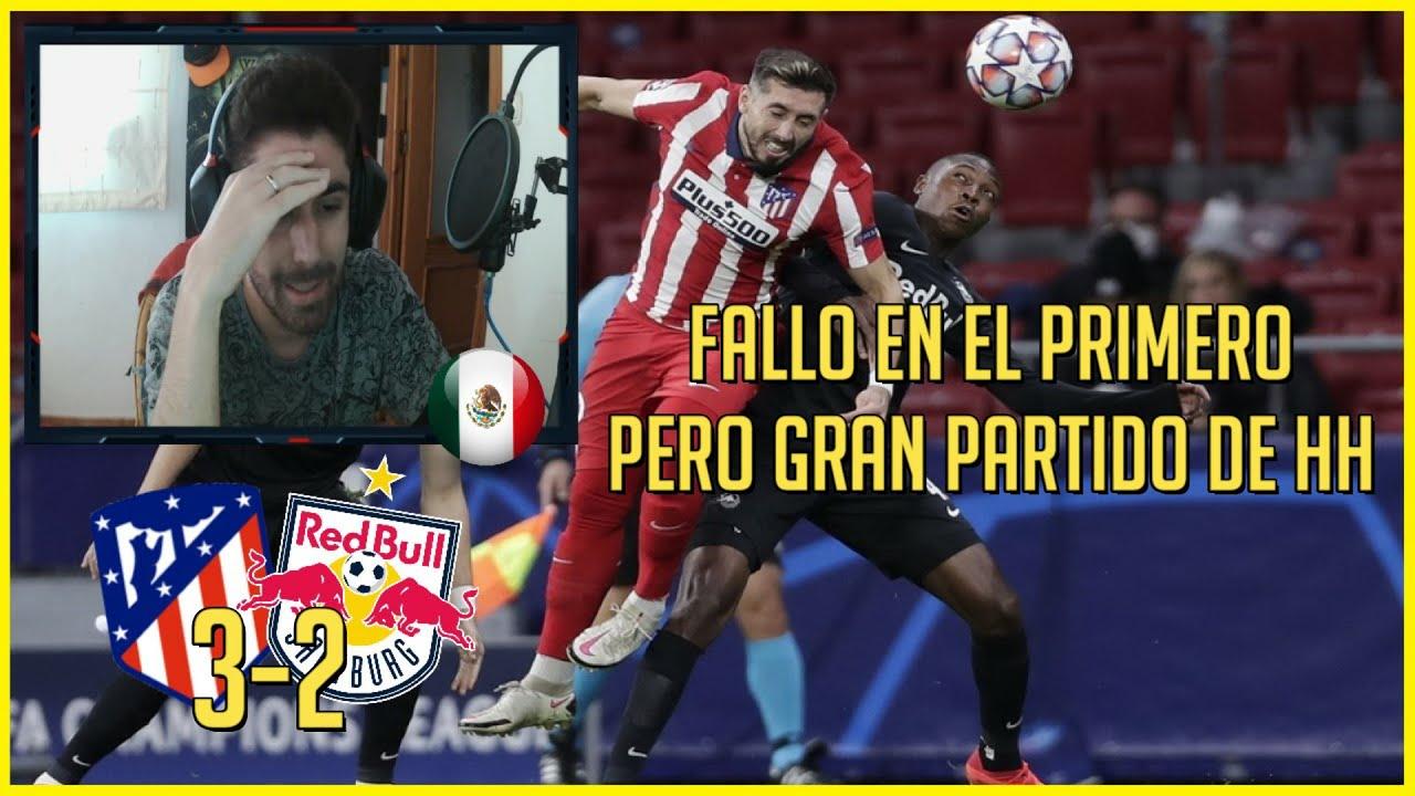 🔥 HECTOR HERRERA vs SALZBURGO (ATLETICO MADRID 3-2 SALZBURGO)