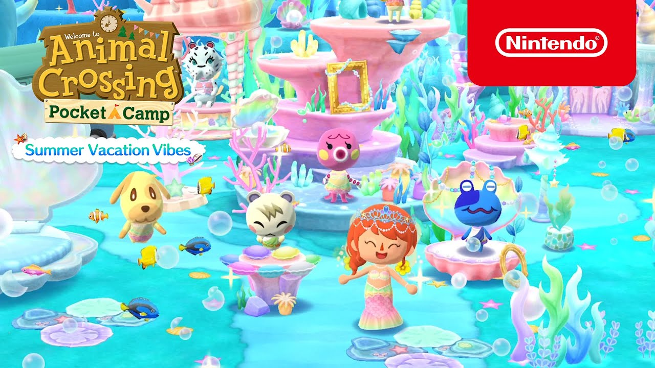 Summer Vacation Vibes / Animal Crossing: Pocket Camp