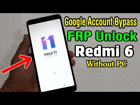 Xiaomi Redmi 6 (M1804C3DI) FRP Unlock Or Google Account Bypass || MIUI 11 (Without PC)