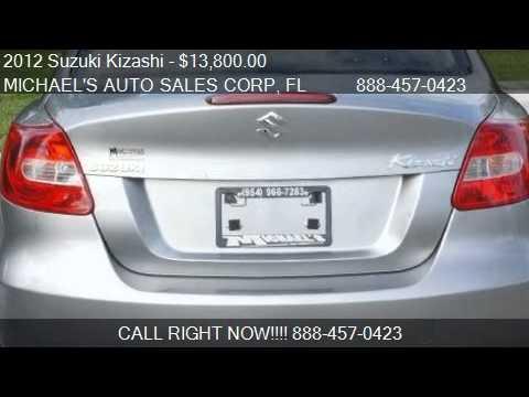 2012 Suzuki Kizashi SE - for sale in Hollywood, FL 33023