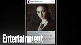 Repeat youtube video Game of Phones: 'Game of Thrones' told via Instagram