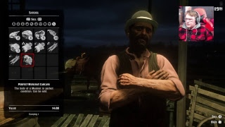 (Red Dead Online) doing random stuff probably hunting back on my main account W/friends enjoy