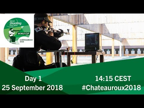 Men's 10m Air Rifle standing SH1 Final | Day 1 | Chateauroux 2018