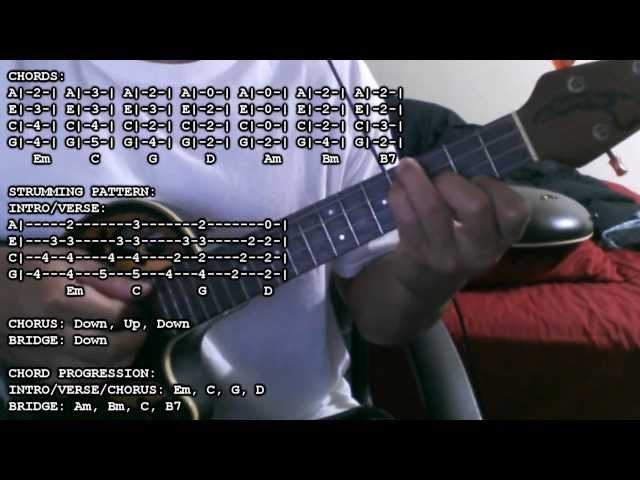 Avmtutorials Common Kings Wade In Your Water Chords Tutorial Ukulele