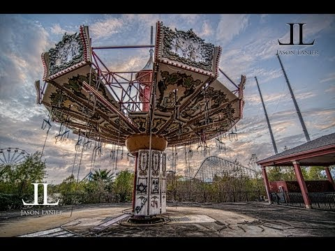 BUSTED at Abandoned Six Flags New Orleans Jazzland with Urban Explorer Jason Lanier Photography
