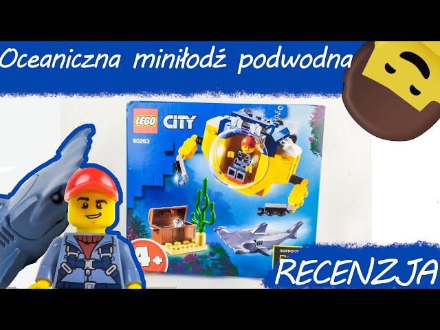 LEGO CITY 60263 Oceaniczna miniłódź podwodna / RECENZJA