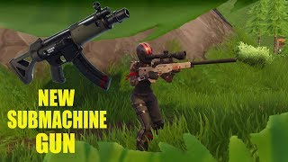 NEW BROKEN Submachine Gun! Broken is in the title of the gun. Trust