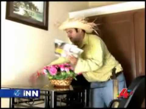 Videos Divertidos de International News Network INN Agapito en el Hotel