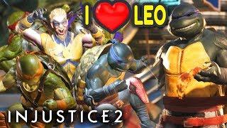 Injustice 2 PC.  More TMNT Gameplay. Leonardo - BEST NINJA TURTLE. TMNT vs. Multiverse Part 2.