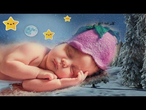 Instrumental Christmas Lullabies Music for Babies to Sleep. Playlist and sweet animation