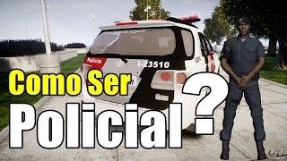 GTA MTA - Como ser policial no Brasil Server Top