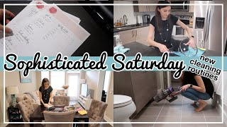 COME HANG OUT AND CLEAN WITH ME // Trying a New Cleaning Routine + Follow My Cleaning Routine