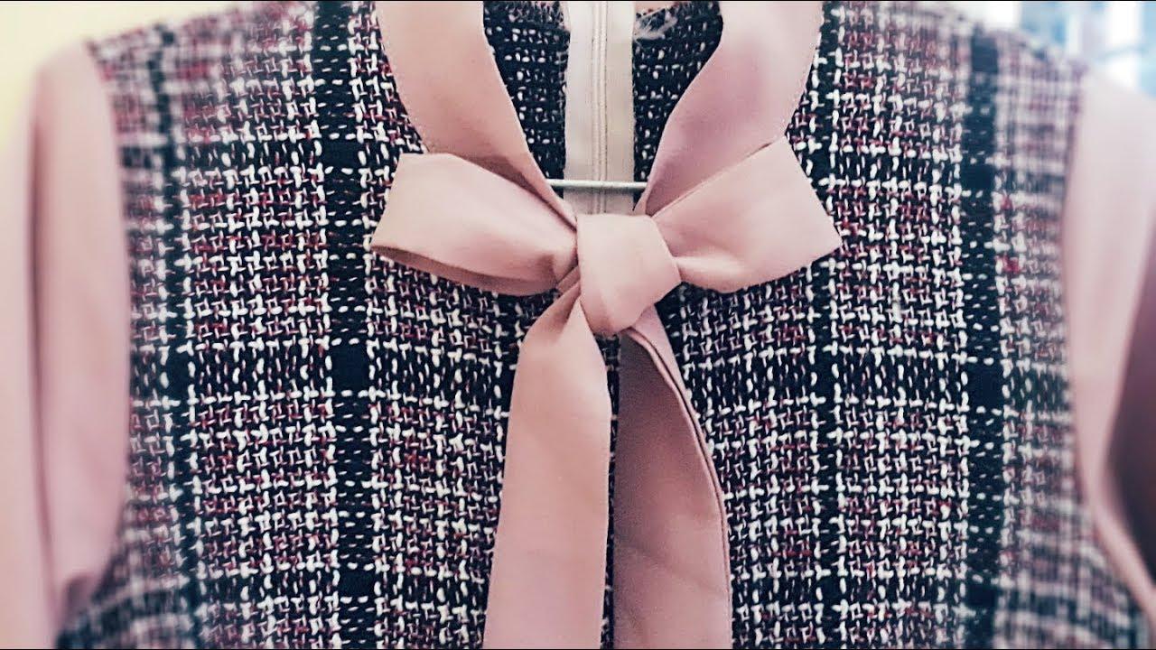 Cách thắt nơ áo, váy cực kỳ đơn giản | How to tie a simple bow | HaNa